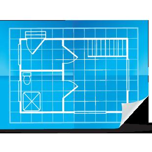 An image showing a plan printing